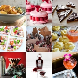 This week's roundup from Tasteologie and Liqurious includes peppermint pattie martinis, perfect roast potatoes, mini brie en croute and more.