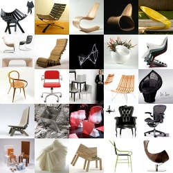 Chair roundup! since today feels a bit slow ~ here are 25 chairs of .org!