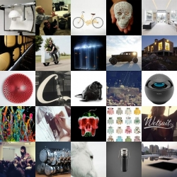 Walrus chairs, skulls made of fruit and a concert of goldfish are all part of this week's roundup from NOTCOT.org.