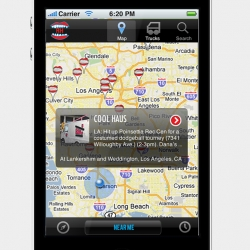 Roaming Hunger iPhone App takes you to the closest food truck