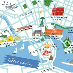 Maps - new book of illustrated cities by Lena Corwin.