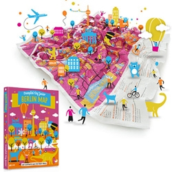 Crumpled City Maps now come in a JUNIOR version for Amsterdam, Berlin, London, New York and Paris! Playfully illustrated, these are filled with must see spots for kids...