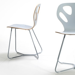 Platform - Wertel, Oberfell come up with a new chair for Iker/ Poland. Elle Decoration Gold Award for best furniture 2007