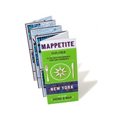 A Map for your Appetite? Mappetite is so cleverly-designed it points you to restaurants in the New York area with ease. I wish I thought of that!