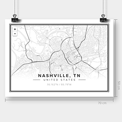 Mapiful! Beautiful, clean, simple, black and white maps that you can customize. Pick your location, zoom + pan, and label your perfect map.
