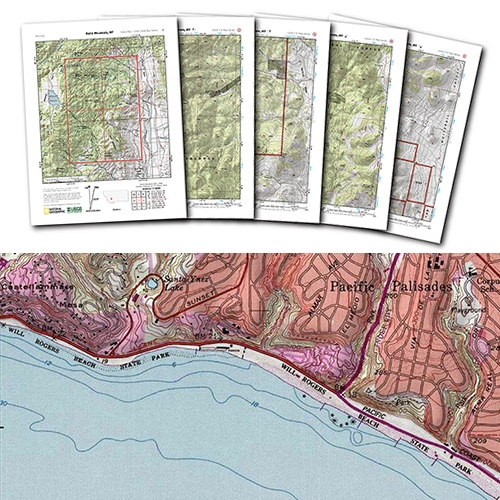 "National Geographic Printable USGS PDF Quads ""A Quick, Easy, and Free way to Download any Quad in the Country."" Interesting to search US addresses as well as trails!"