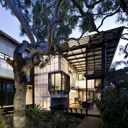 Bark Architects designed this stunning home, the Marcus Beach House, on Queensland's Sunshine Coast.