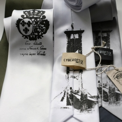 Concealed Weapons necktie: Let Them Eat Cake!
