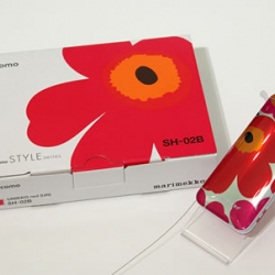 Marimekko Mobile will be released from NTT Docomo in July.