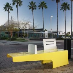 The Marine Series is Brisbane, Australia-based designer Alexander Lotersztain's latest venture into the field of street and parkland furniture.
