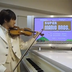 Awesome violin covers by Teppei Okada. It's the Super Mario Theme!