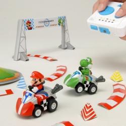 TAKARA TOMY will release MARIO KART CHOROQ HYBRID mini cars.