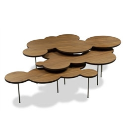 Three piece Clouds Coffee Table Set designed by Mark Hark.