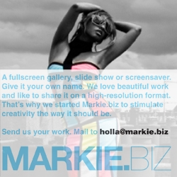 Markie.biz is a new hi-res format for people to expose their creative work. Could also figure as a nice screensaver...