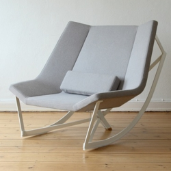 Sway is a rocking chair by Markus Krauss from Germany. This oversized beauty can be fixed to a solid stand or will be your new rocking sofa replacement.