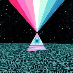 Beautiful geometric paintings by Mark Warren Jacques.