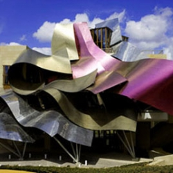 Hotel Marques de Riscal is another example of builders taking Frank Gehry's sketches too literally.