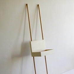 It's up to you how Porter by german based designer Martin Holzapfel looks. Lean at any wall, combine two or three of it and place it in the middle of the room. This shelf is a really creative idea.