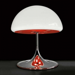 Magic Table Lamp from Martinelliluce!  Mushrooms are so wonderful