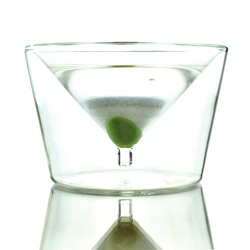 AMT's Inside Out Martini Glass is my lust worthy kitchen necessity of the moment ~ also check out some of her other glasses, rings, and bags with bags printed on them!