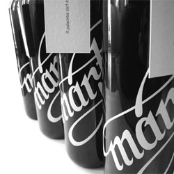 Package design for Márton, a small family run winery, by Kiss Miklos.