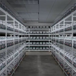 Rows and rows of Marty Mcfly's Kicks a.k.a Nike Mag 2011.