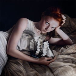 Gorgeous paintings by Mary Jane Ansell.