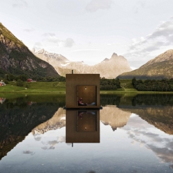Swedish architecture team Jagnefalt Milton has proposed a solution to the master plan of the Norwegian town Åndalsnes.