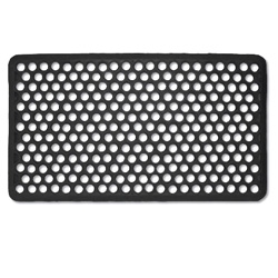 hive rubber doormat ~ a simple alternative to the usually not so appealing options