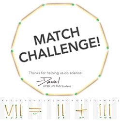 Creatives! Help! Our lead dev needs your help for his PhD research on creativity ~ please try the Match Challenge! (I helped make the match puzzle graphics! And there's a chance at a Nexus 7!)