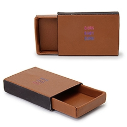 Jack Spade does a Matchbox... in leather. Delightfully absurd... doesn't even come with matches?