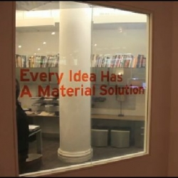 The Economist wanders at Material ConneXion, NYC, in a library not of books but of innovative materials for designers.