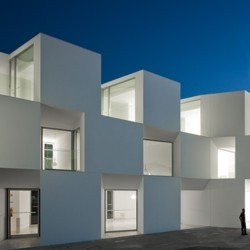 Houses for the elderly in Alcácer do Sal, Portugal by Aires Mateus Arquitectos