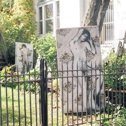 Brian Hunter takes street art to mattresses...