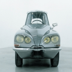Gabriel Orozco show coming up at MoMA will be a classic, like his modified Citroen DS.