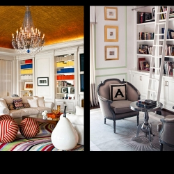 Take a peek into the home of designer Max Azria. There are elements that I am a big fan of, I especially love the balance of warm and cold vibe throughout the different spaces. Look closely at the extravagantly gold leafed ceiling in one room and the strange...