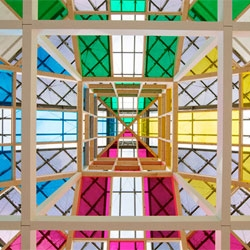 Icon Magazine's events for May include Daniel Buren: Echoes, Work in Situ at the Centre Pompidou-Metz.