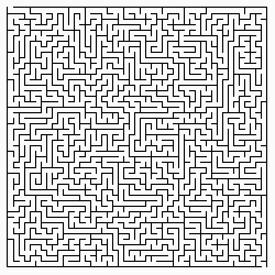 A pure HTML and CSS-base, client-side dynamic maze generator.