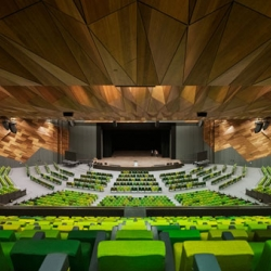 The Melbourne Exhibition Centre is the greenest convention center in the world. Setting new world benchmarks as the first convention centre to be awarded the highest '6 Star Green Star' environmental rating.