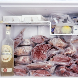 Mark Menjivar is in your fridge photographing your food.  Says alot about ourselves and our habits...in a Neo-Freudian sort of way....