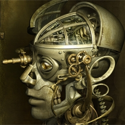 Mechanical Mirage:  Surrealistic Digital Portraits by ALMACAN.   The most amazing images I've seen in a long, long time.