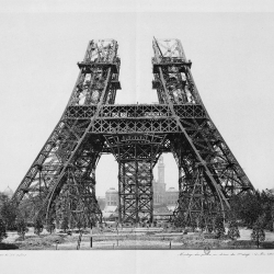 Mr. Eiffel's original book promoting his tower has been reprinted beyond the 500 originally printed for his friends.  The original is also available in full here: http://gallica.bnf.fr/anthologie/notices/01206.htm