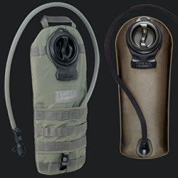 Camelbak Military and Tactical gear. In shopping for a new hydration pack, loving the Military side of Camelbak! Muted colors, more rugged and versatile options, even a chem bio defense section.