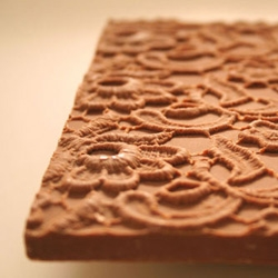 Mmh! chocolace tiles by Katja Gruijters. I love dutch designers