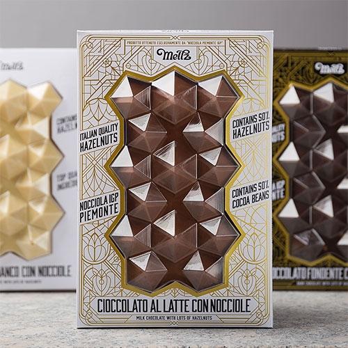 Meltz Chocolate Packaging Design by Foxtrot Studio