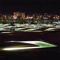 The Pentagon Memorial by KBAS Studio will open tomorrow.