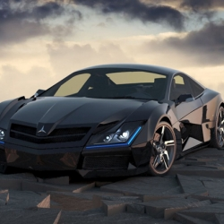 The Mercedes Benz SF1 Concept by Steel Drake is a super car inspired by intergalactic transports.
