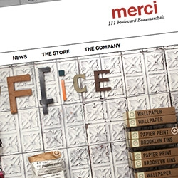 Mercí ~ the inspiring Parisian store is now shoppable online!