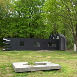 Located near the world famous site of Woodstock, 100 miles north of New York City, Ben Ryuki Miyagi's dramatic renovation of a 1960s home is challenging, unique and, well, frankly more than a little frightening...