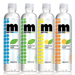 Metromint branches out - now you can get original Peppermint, subtle Spearmint, and new tangy Lemonmint and citrusy Orangemint.